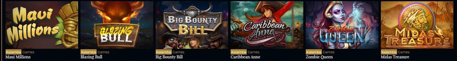 Kalamba Games hos Premiere Live Casino