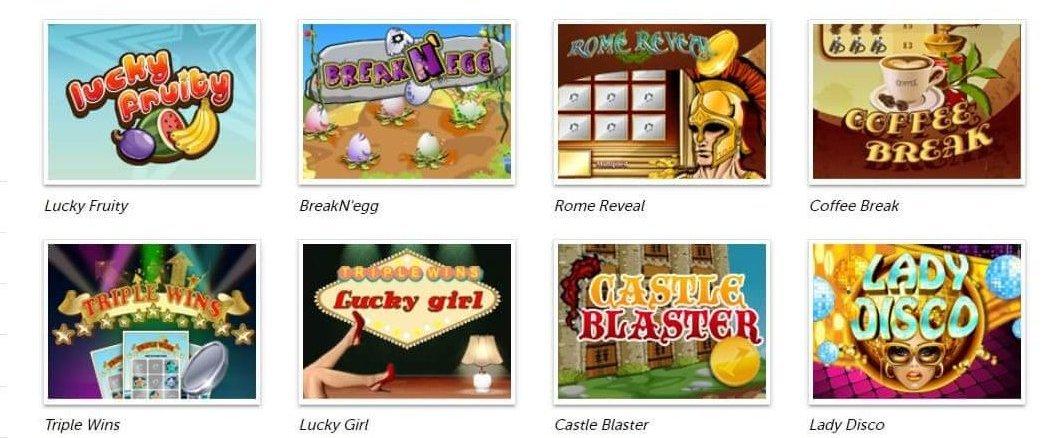 Några skraplotter vilka har sällskap av ännu fler hos PlayMillion