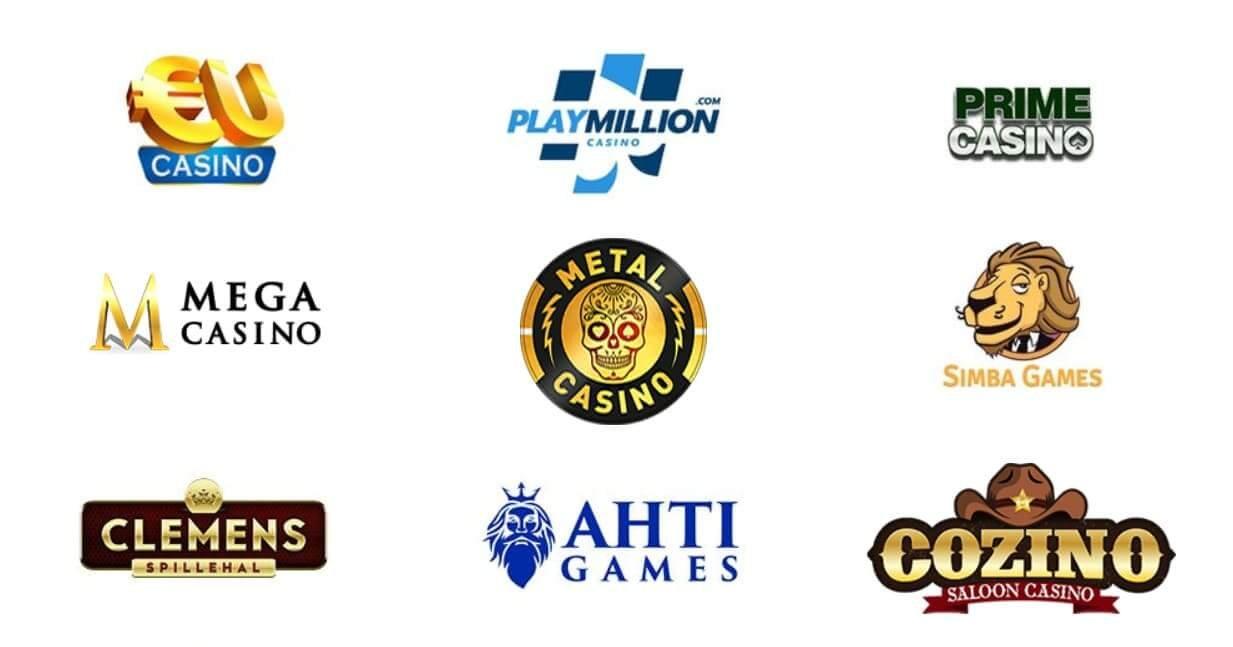 Nio av de drygt 30 online casinon som PlayMillion delar koncern med