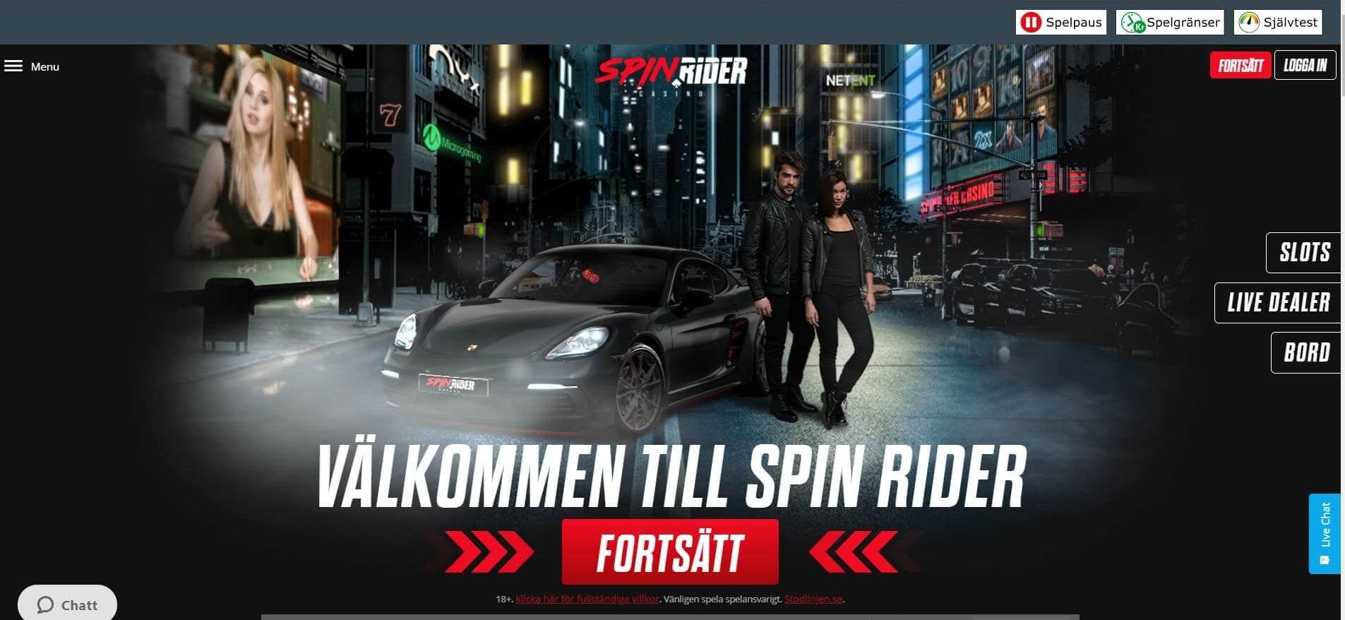 Spin Rider - Ett av de tuffaste spelsajterna