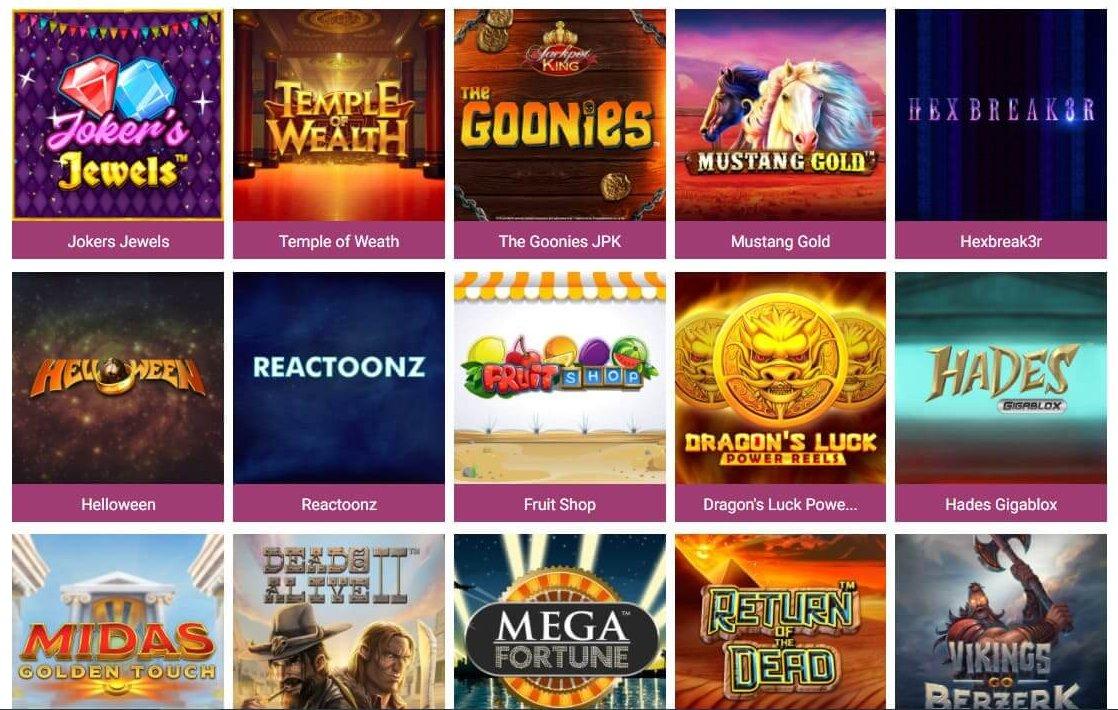 Play 'n' GO står en en större andel slots på Simba Games
