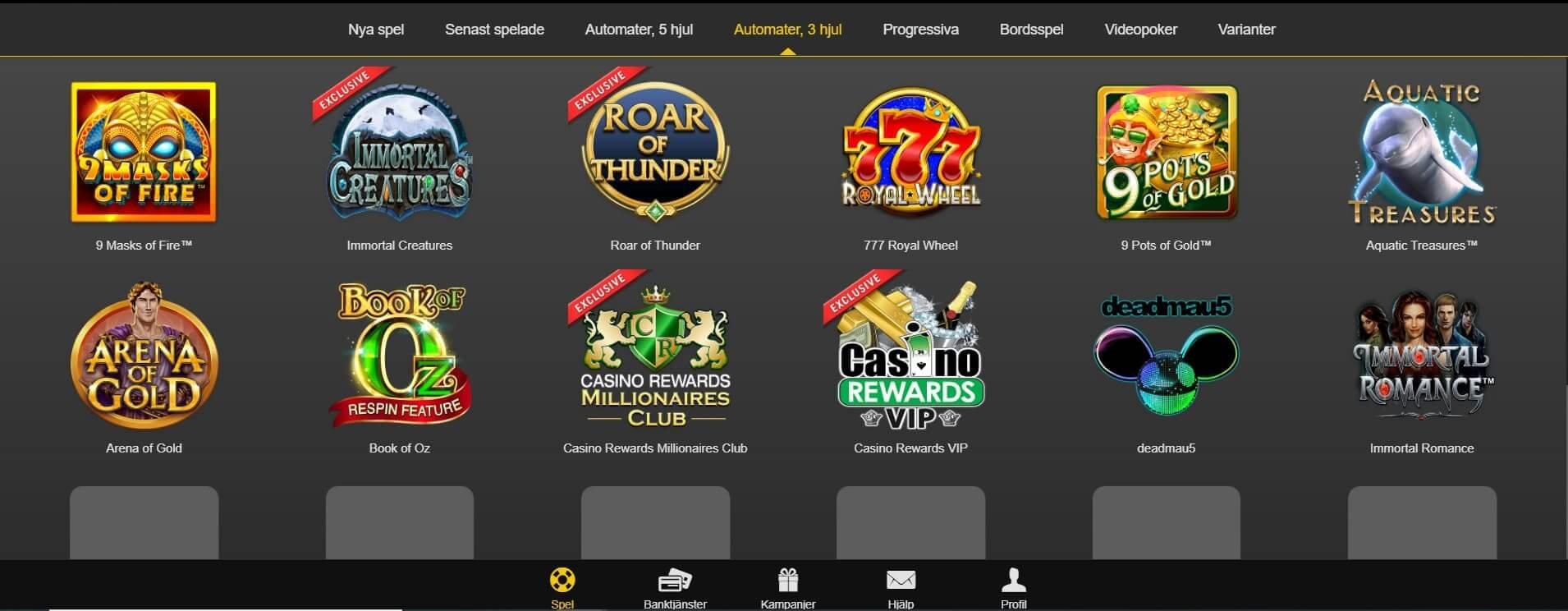Casino Action ger dig en annorlunda med välkomnande sajt