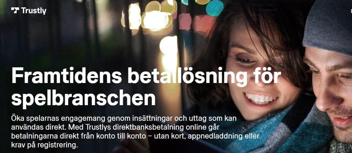 Casino Action använder Trustly som betalmetod