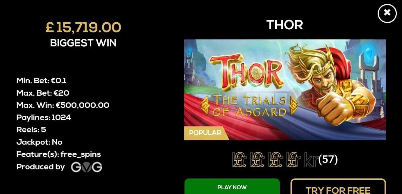 Se spelets upplägg genom att klicka på bilden på Queen Vegas