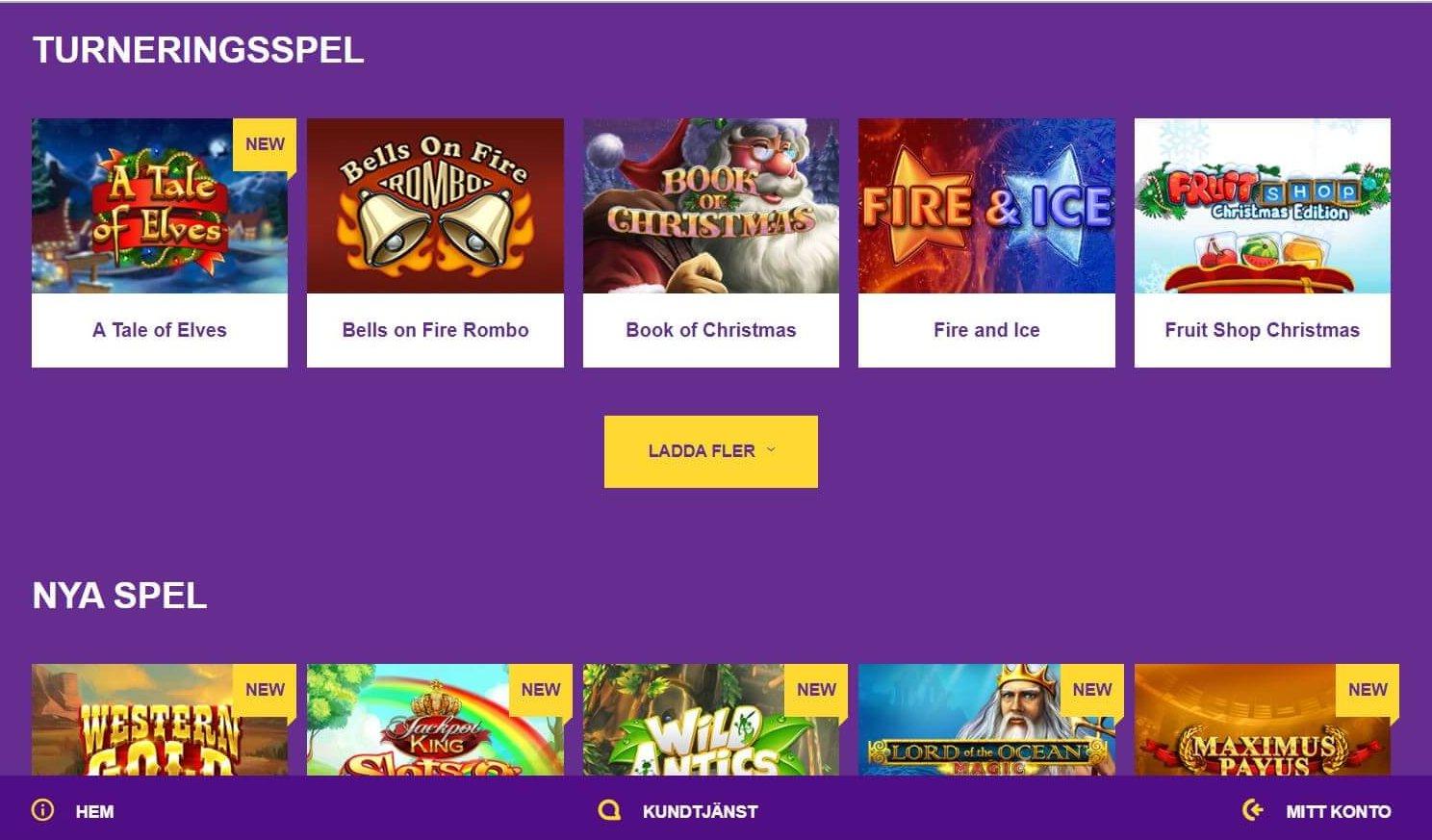 Yako Casino erbjuder alla möjliga spelformer, däribland turneringsspel