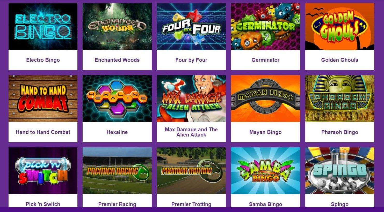 Ett stort antal av andra spel finns hos Yako Casino