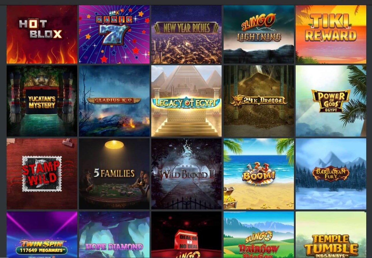 21Privé Casino ger dig över 800 slots med alla slags tema och upplägg