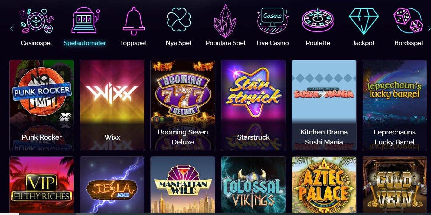 Casino Epic har ovanligt många unika speltitlar för dig!